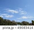 青空 青色 白色の写真 49083414