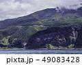 カムイワッカの滝 知床半島 滝の写真 49083428