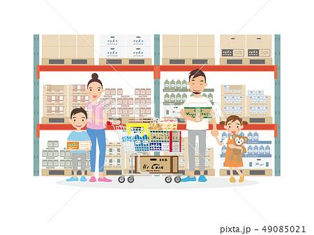 ファミリー ショッピング  49085021