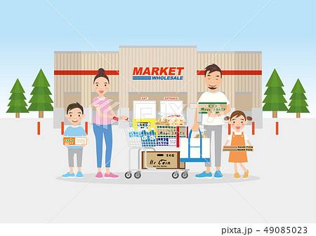 ファミリー ショッピング  49085023