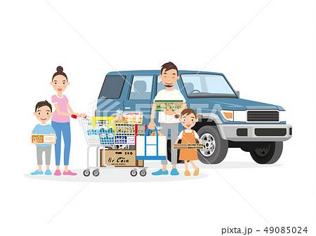 ファミリー ショッピング  49085024