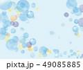 水玉 水彩風 ベクターのイラスト 49085885