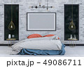 インテリア ランプ 灯のイラスト 49086711