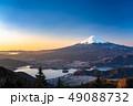 《絶景》富士山・日本の朝景 49088732