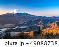 《絶景》富士山・日本の朝景 49088738