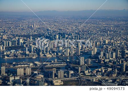 上空から見た東京都心 49094573
