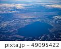 上空から見た猪苗代湖 49095422