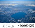 上空から見た猪苗代湖 49095425