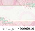 和モダン-桜-ピンク-背景素材-春 49096919