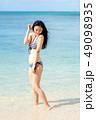 水着 ビキニ 女性の写真 49098935