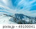 雪山 苗場山付近 49100041