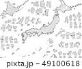日本地図クレヨンa 49100618