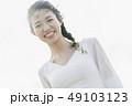 ウェディング 花嫁 笑顔の写真 49103123