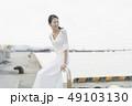 ウェディング 花嫁 ウェディングドレスの写真 49103130