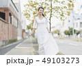 ウェディング 花嫁 ウェディングドレスの写真 49103273