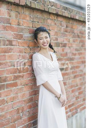 ウェディング花嫁 49103329