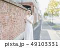 ウェディング 花嫁 ウェディングドレスの写真 49103331