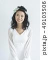 ウェディング 花嫁 ウェディングドレスの写真 49103506