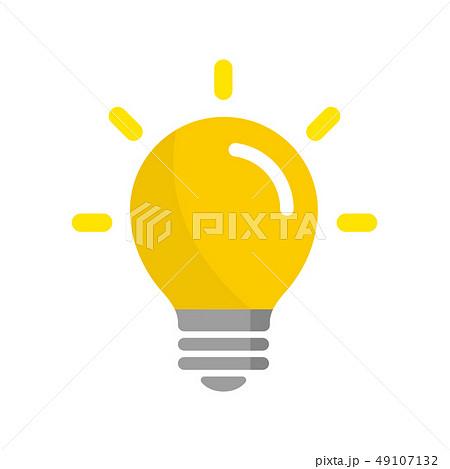 電球 アイデア 閃き ひらめき アイコン 49107132