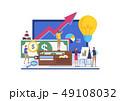 ビジネス 商売 概念のイラスト 49108032
