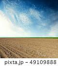 野原 運動場 畑の写真 49109888
