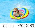 プール 遊泳 子の写真 49112193