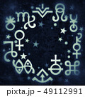Astrological diadem (mystical signs and symbols). 49112991