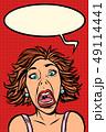 女 女の人 女性のイラスト 49114441