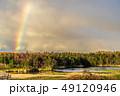 知床五湖の虹 一湖 49120946