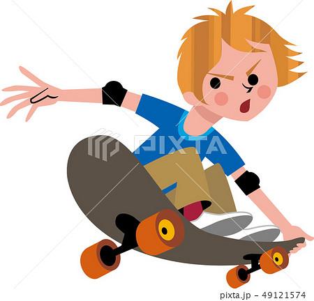 スケートボード 49121574
