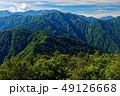 栂海新道・白鳥山から見る犬ヶ岳と朝日岳・雪倉岳・剱岳 49126668