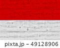 インドネシア 木製 木造のイラスト 49128906