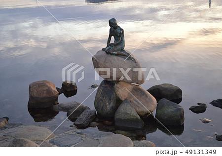 デンマーク、コペンハーゲン、人魚像 49131349