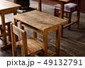 学校 机 椅子の写真 49132791