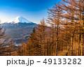 富士山 唐松 朝の写真 49133282