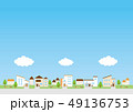 背景素材-住宅 49136753