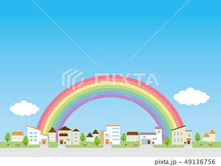 背景素材-住宅 49136756