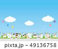 背景素材-住宅 49136758