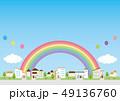 背景素材-住宅 49136760