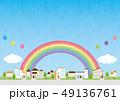 背景素材-住宅 49136761