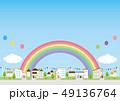 背景素材-住宅 49136764