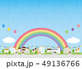 背景素材-住宅 49136766