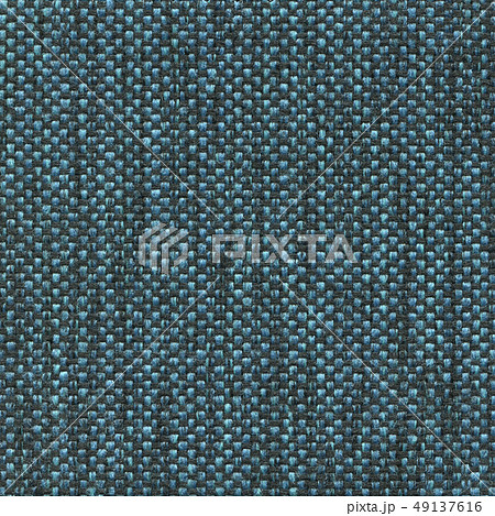 Luxury blue textured genuine fabric of high and natural quality. 49137616