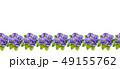 Watercolor colorful pansies flowers drawing. 49155762