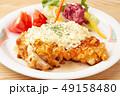 鶏肉 料理 鶏の写真 49158480