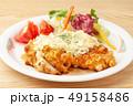 鶏肉 料理 鶏の写真 49158486