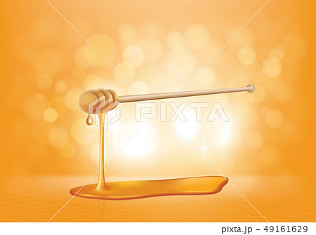 Vector realistic illustration of honey drip 49161629