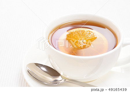 オレンジを入れた紅茶 49165439