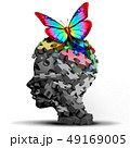 自閉症 アイデア アイディアのイラスト 49169005