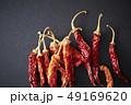 唐辛子 スパイス 香辛料の写真 49169620